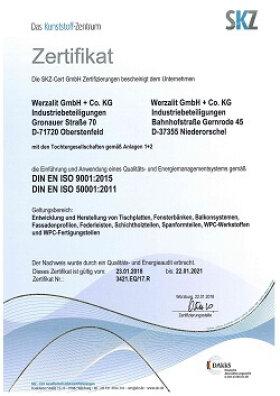 окна сертификат