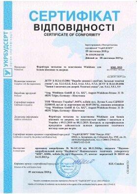сертификат соответствия на пластиковые окна