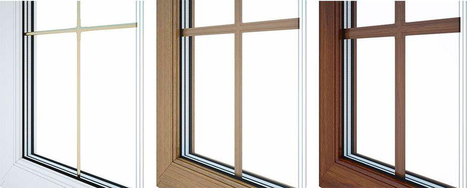 окна пвх со шпросами цена