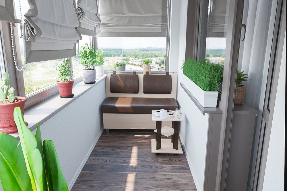 обшить стены балкона