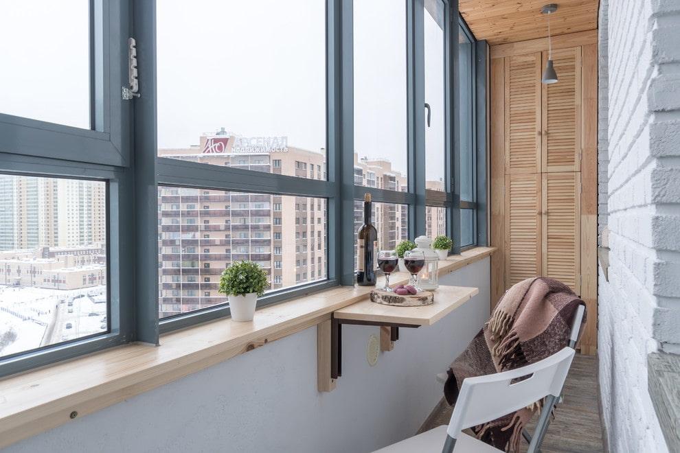 обустройства балкона