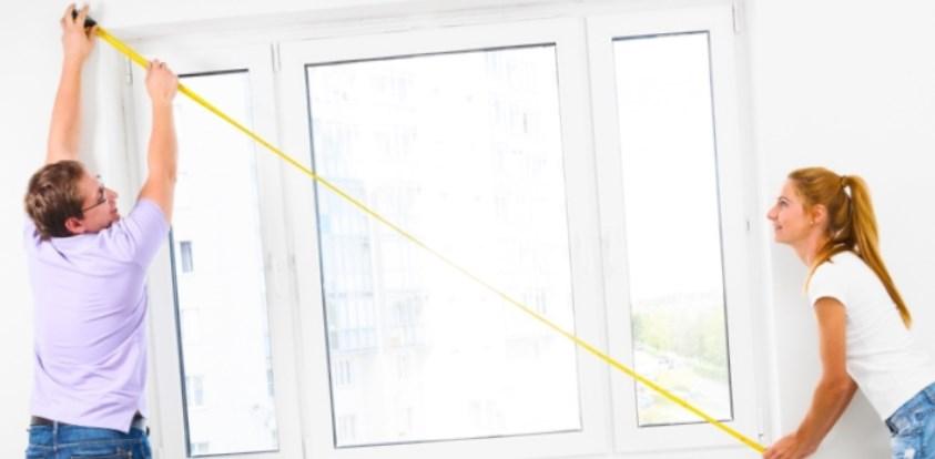 как сделать замер окна самому