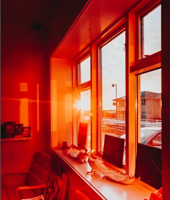 защита окна от солнца
